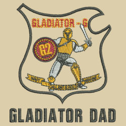 Gladiator Dad L/S Fishing Shirt Design