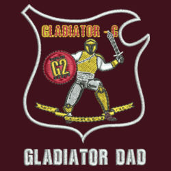 Gladiator Dad Operate L/S Twill Shirt  Design