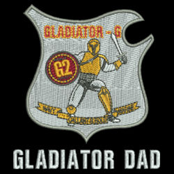 Gladiator Dad Journey Fleece Jacket Design