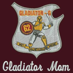 Gladiator Mom Journey Fleece Jacket Design