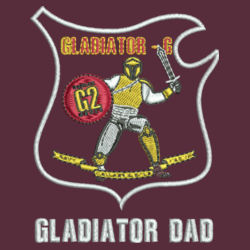 Gladiator Dad Fishing Shirt Design